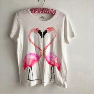 J. Crew Tops - J.Crew Flamingo Love Collector T-Shirt